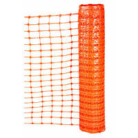 Сетка для сигнального ограждения Tenax Нью Грифон (1х50 м) оранжевая