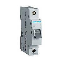 Автоматический выключатель  1P, 6kA, B, 1M Hager