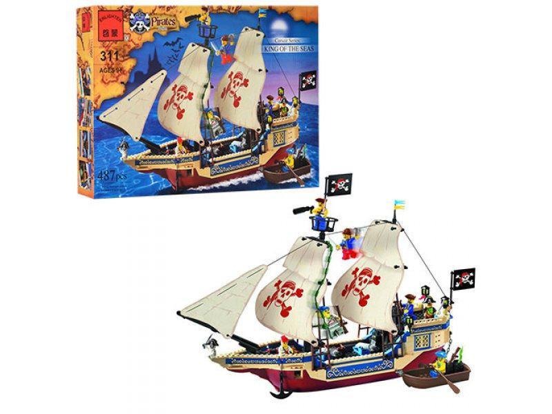 "Конструктор Brick 311 ""Короли Морей"" King of the Seas из серии Pirates Series"