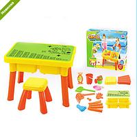 Детский столик-песочница со стульчиком 8806A ***