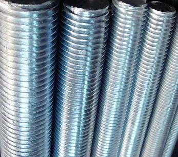 Шпилька М36х1000 DIN 975 резьбовая метровая класс прочности 5.8, фото 2
