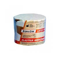 Бинтмедицинский эластичный 2 Latex Free 8смх3м Lauma