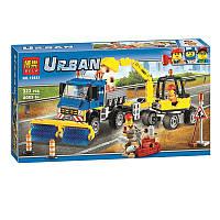 """Конструктор Bela 10651 Urban (аналог Lego City 60152) """"Уборочная техника"""", 323 дет"""