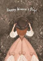 """Открытка """"Happy Women`s Day"""""""