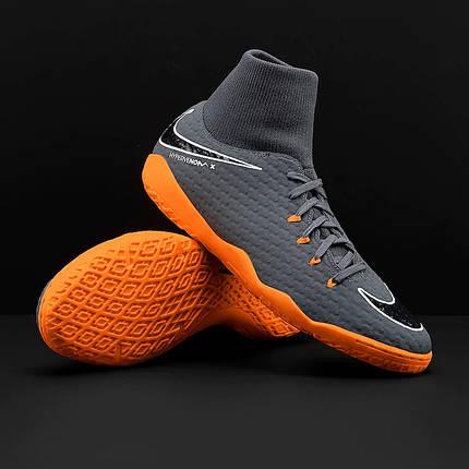 730aba71 Футзалки Nike HypervenomX Phantom 3 Academy DF IC AH7274-081 (Оригинал),  фото