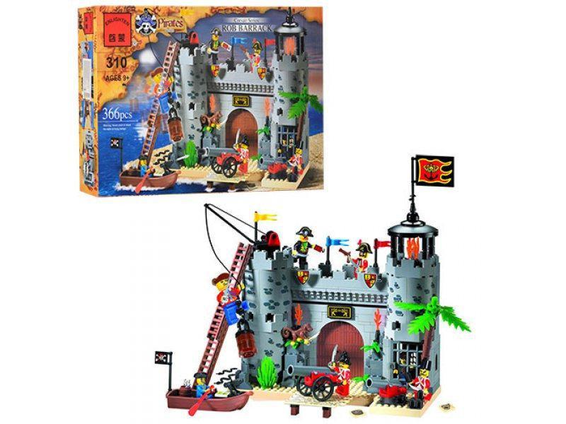 """Конструктор Brick 310 """"Пиратский замок"""" 366 деталей"""