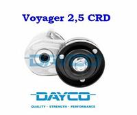 Натяжитель ремня навесного оборудования 2.5 CRDI/2.8 CRDI Chrysler Voyager DAYCO 5066936D