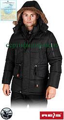 Куртка робоча утеплена Reis Польща (спецодяг зимова) DARKSTAR B