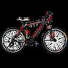 """Горный велосипед Titan Street 26""""×17"""" (Black-Red-White)"""