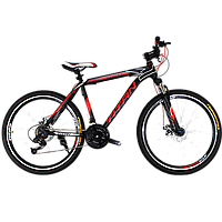 "Горный велосипед Titan Street 26""×17"" (Black-Red-White), фото 1"