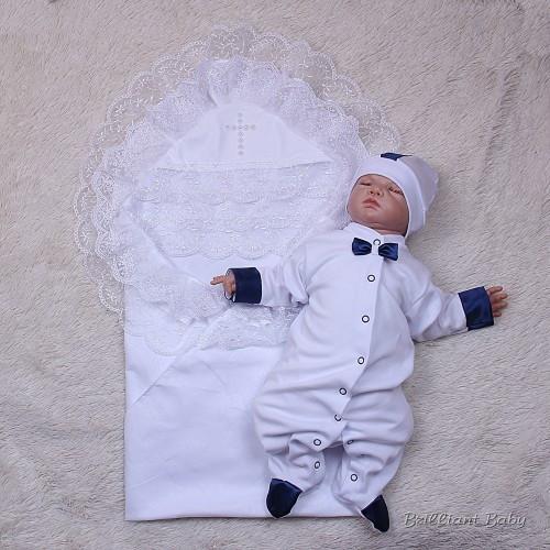 6b84628dfc74 Крестильный набор для мальчика, Любовь+Корсар белый, крестильная ...