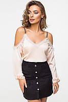 Блуза женская 2116, блуза шелковая, жіноча сорочка