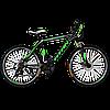 """Горный велосипед Titan Street 26""""×17"""" (Black-Green-White)"""