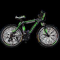 "Горный велосипед Titan Street 26""×17"" (Black-Green-White), фото 1"