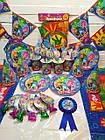 Тематические наборы праздничной одноразовой посуды и украшений