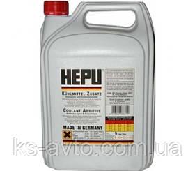 Антифриз - концентрат красный HEPU 5л