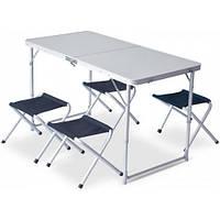 Стол складной Pinguin Set table + 4 стула