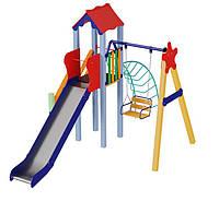 Детская игровая площадка Бабочка высота горки 1,5 м, фото 1