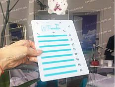 Изготовление планшеток для ресниц на заказ