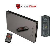 Комплект Видеодомофон с записью PoliceCam PC-938R2-MIR и видеопанель PC668