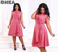 Платье юбка клеш в расцветках 32568, фото 1
