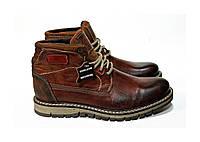 Мужские оссение ботинки. Натуральная кожа. Fat Company.Португалия.