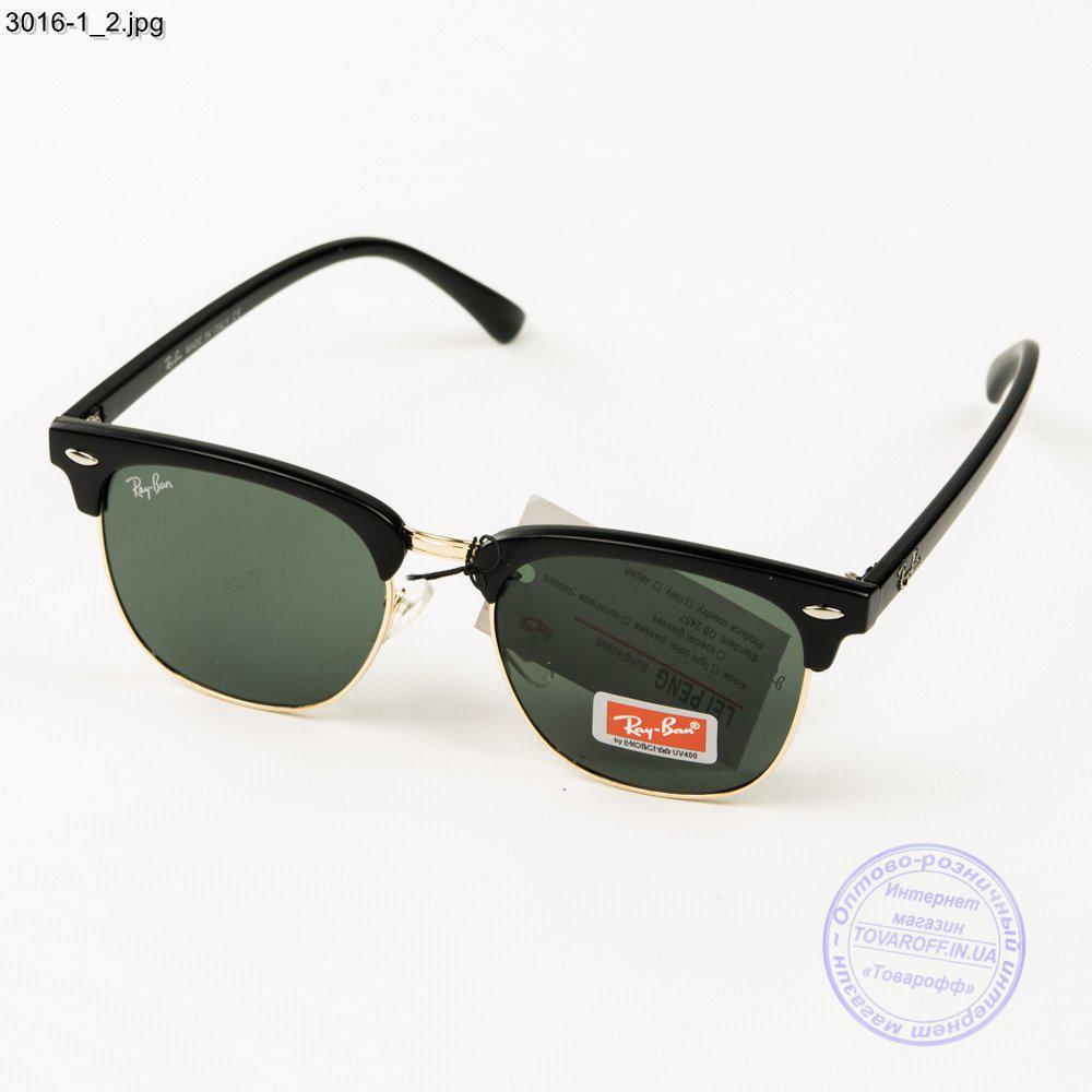 Солнцезащитные очки Ray-Ban Клабмастер унисекс со стеклянной линзой - 3016-1