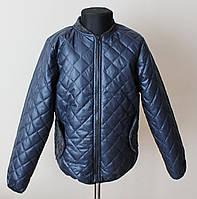 Куртка для мальчика детская на синтепоне синяя, фото 1