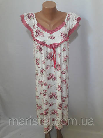 Женская ночная рубашка 1765-2, фото 2