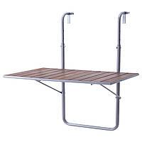 IKEA ARRESO Балконный стол, коричневый  (703.115.03)