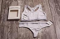 Женское белье Calvin Klein, белый