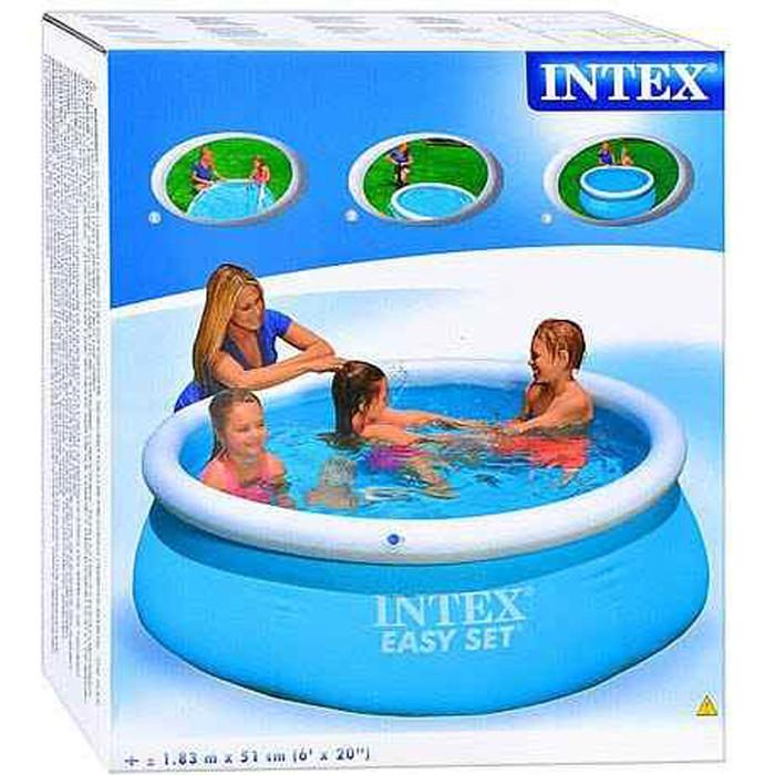 Бассейн надувной Intex Easy Set 183х51см 28101