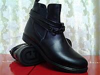 Демисезонные кожаные ботинки,ботильоны Terra Grande, фото 1