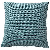 IKEA SOTHOLMEN Подушка, внутри / снаружи, синяя  (703.940.08)