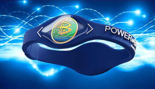 Power Balance - энергетический браслет Синий L, фото 2