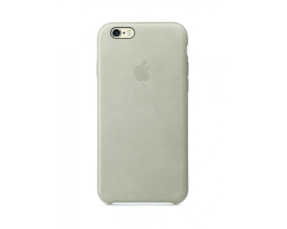 Силиконовый чехол для iPhone 6s светло серый