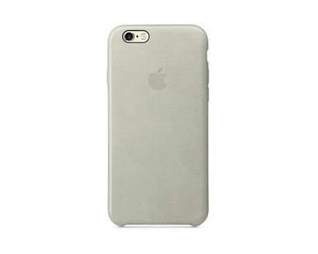 Силиконовый чехол для iPhone 6s светло серый, фото 2