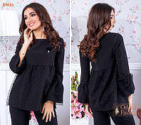Блуза женская нарядная Большого размера