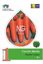 Семена моркови Аленка 30 г, Империя семян