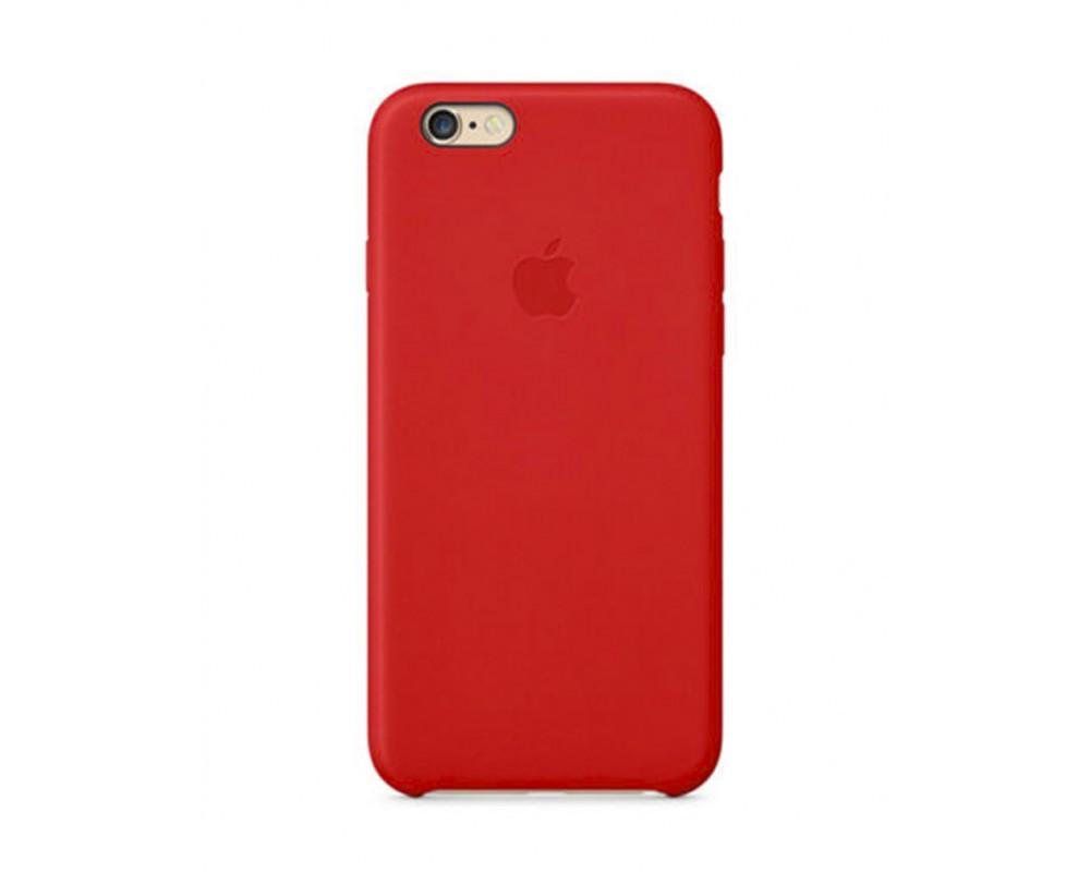Силиконовый чехол для iPhone 5s/SE красный