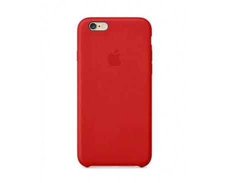 Силиконовый чехол для iPhone 5s/SE красный, фото 2