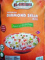 Рис басмати длиннозерный шлифованный пропаренный элитный сорт ( Пакистанский )