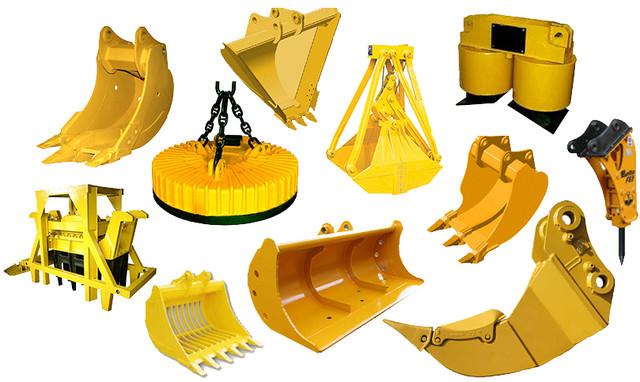 Фото видов навесного оборудования