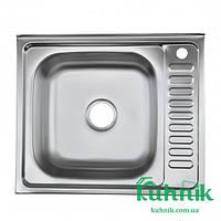 Мойка кухонная Kraft 6050_0,4мм (сатин)