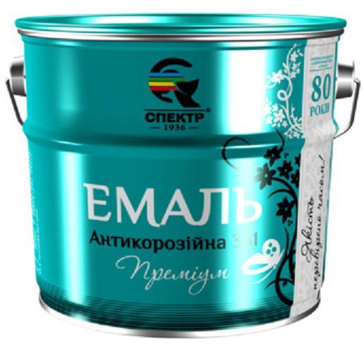 """Эмаль 3 в 1 антикоррозионная """"СПЕКТР"""""""