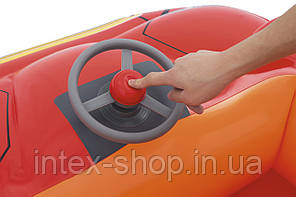 "93404 BW Игровой центр Hot Wheels ""Машина"", 135 х 99 х 43 см, 25 шариков, от 2 лет, фото 2"