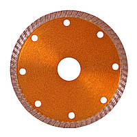 Алмазный отрезной диск (круг) для резки керамогранита, керамической плитки d115mmХ22.23