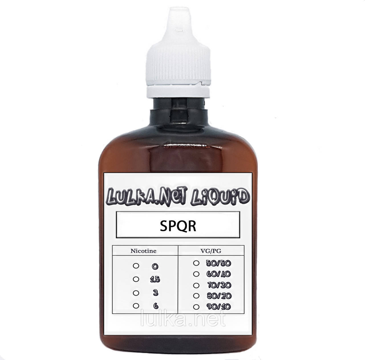 Жидкость SPQR Lemon Ice (Холодный лимонад) 100 мл.