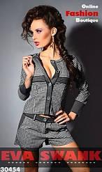 Женский костюм с шортами пд126