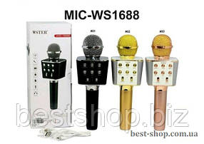 Караоке-микрофон WS-1688 Bluetooth, фото 2